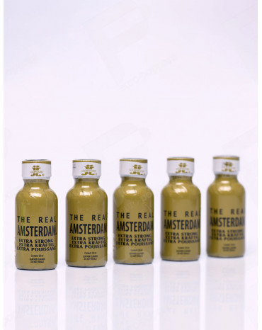 Pack de Poppers The Real Amsterdam X 5
