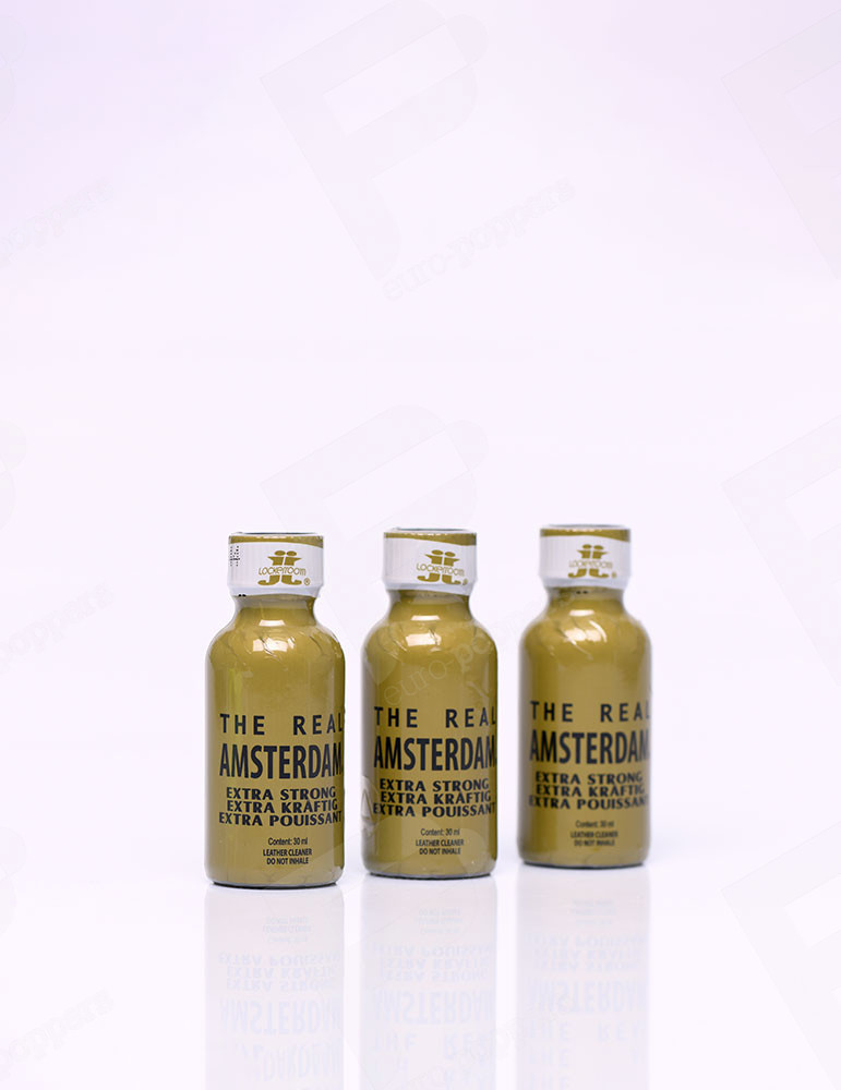 Pack de Poppers The Real Amsterdam X 3
