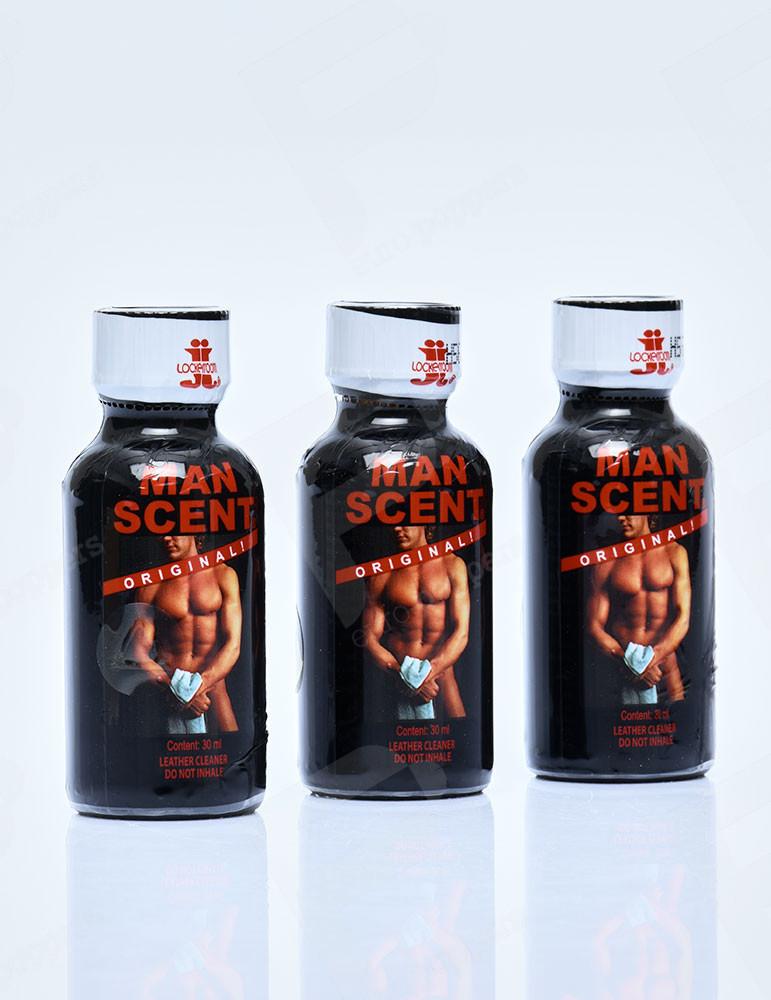 Pack de Poppers Man Scent Lockerroom 30 ml x3
