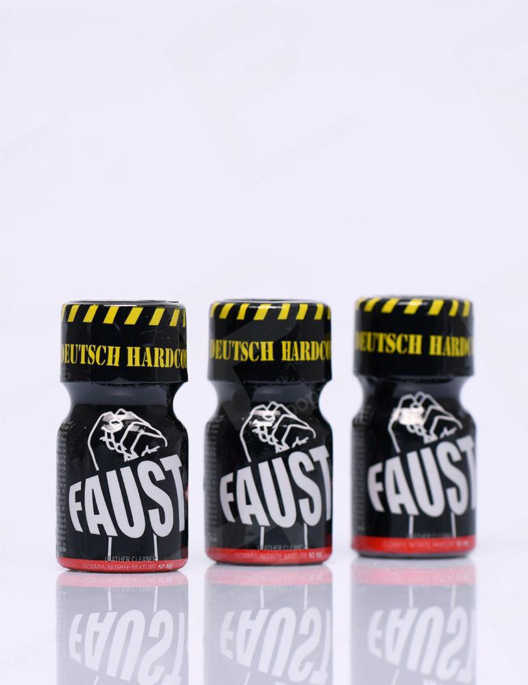 Pack de Poppers Faust 10 ml X 3
