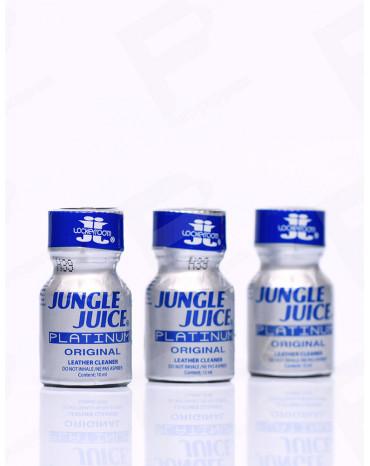 Pack de Poppers Jungle Juice Platinum 10 ml x 3