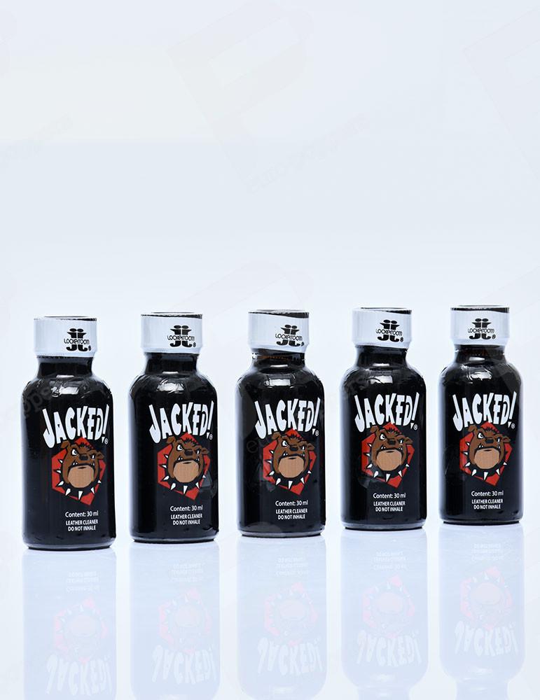 Pack de Poppers Jacked Lockerroom 30 ml x 5